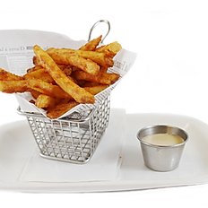 Seasoned Thin Fries (1/2 portion)