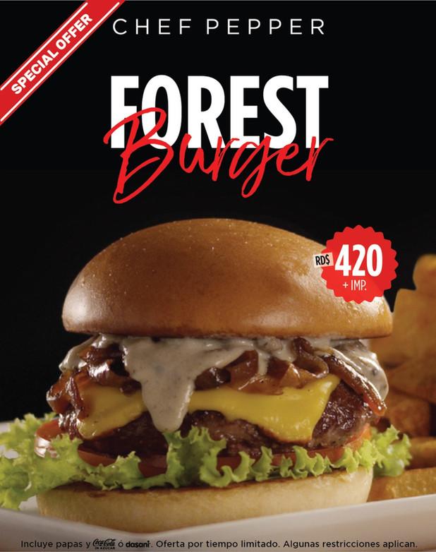 Oferta: Forest Burger