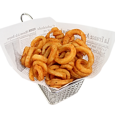 Seasoned Curly Fries (1/2 portion)