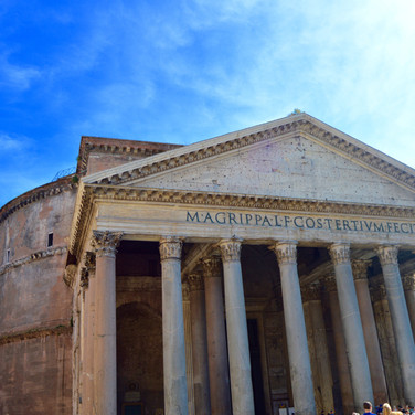 The Pantheon. Rome, Italy