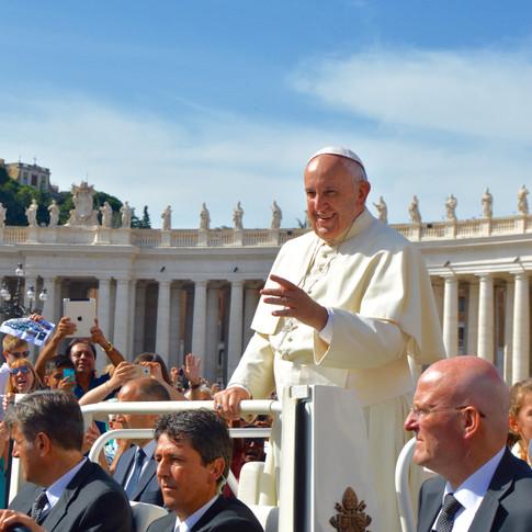 Papa Francesco. Vatican.