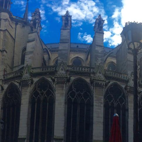 Notre Dame. Paris, France.