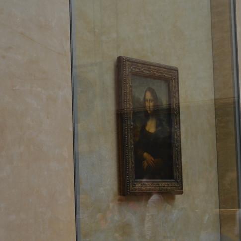 Mona Lisa. Louvre. Paris, France.