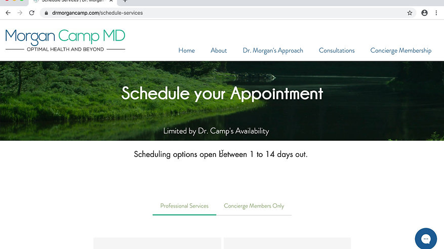 How to schedule and pay for consultation services