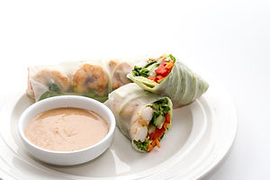 HRM Chicken Lettuce VEGGIE wraps