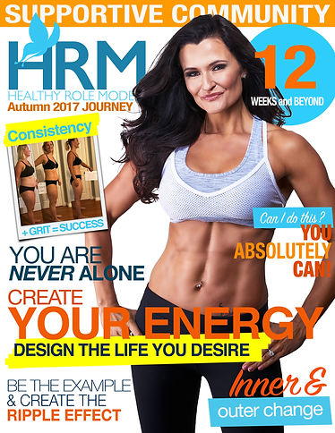 Sarah Gilks Healthy Role Models Magazine Cover 2017