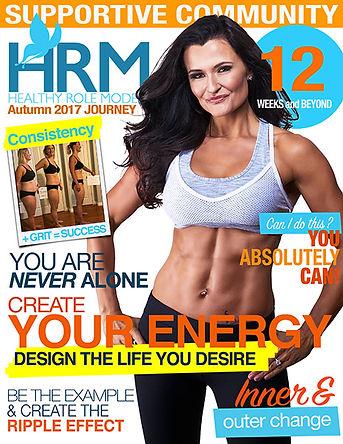 Sara Gilks Magazine Cover Spring
