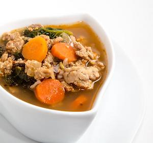 HRM Turkey Kale Soup