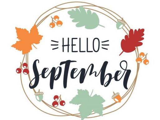 Hello September. 🍂