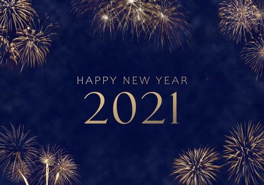 Happy New Year. 2021. 🎇
