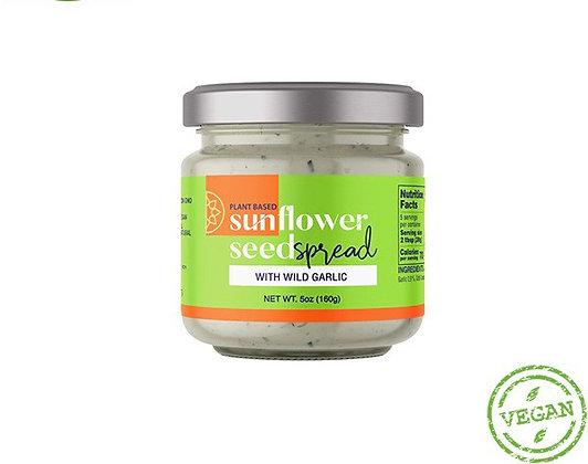 Sunflower spread - Wild Garlic 160g