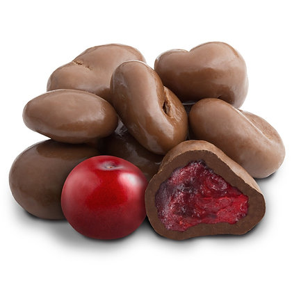 Milk Chocolate Dried Cranberries 100g