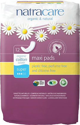 Night Time Natural Maxi Pads