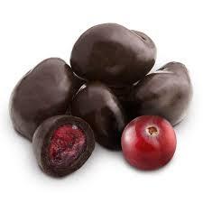 Dark Chocolate Dried Cranberries 100g