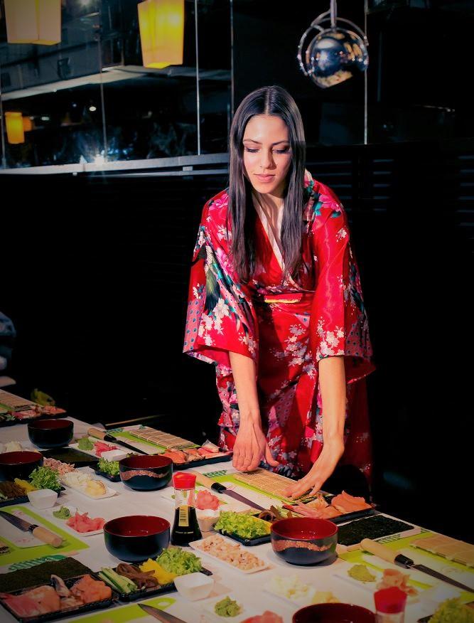 Warsztaty sushi 2015