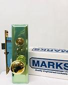 Marks mortise lock knob set