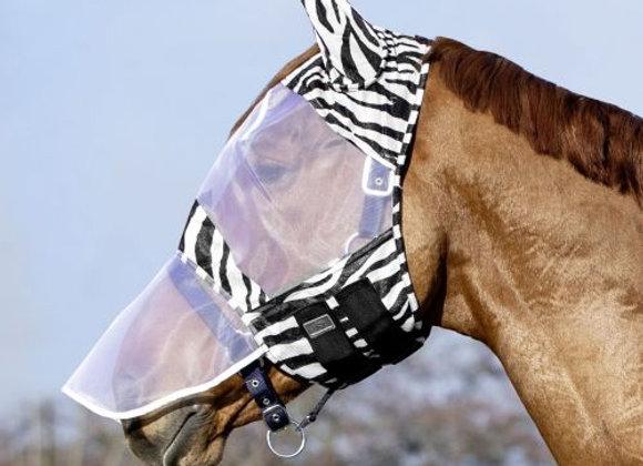 USG Fly Mask with Zebra Design