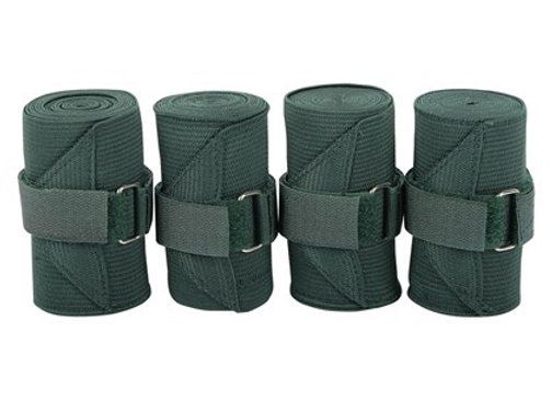 Harry's Horse Elasticated Bandages Black
