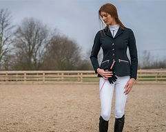 Horse Rider wearing Competition  Clothing