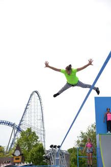 Cedar Point Slackline Show