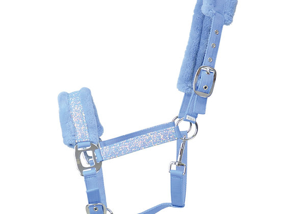 Hy Dazzle Head Collar Powder Blue
