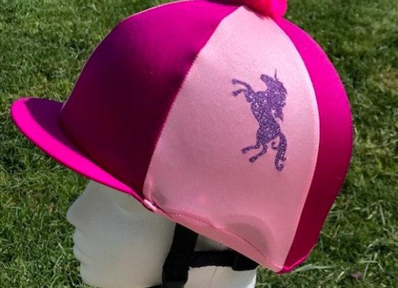 Capz Glitter Unicorn Skull Cover