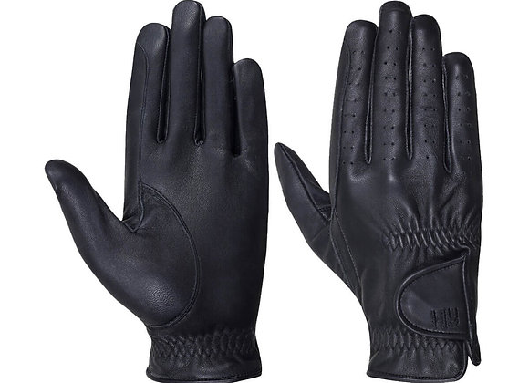 Hy5 Children's Leather Riding Gloves