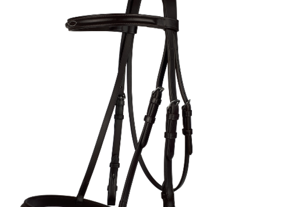 Cameo Bridle - Raised Cavesson