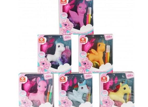 Horka Fantasy Horse/Unicorn Toy