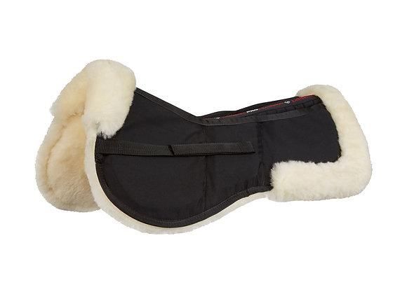 LeMieux Pro-Sorb 3 Pocket Lambskin Half Pad Black