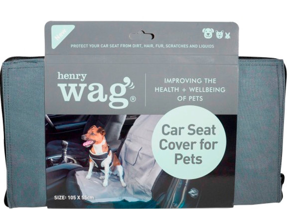 Henry Wag Single Car Seat Cover
