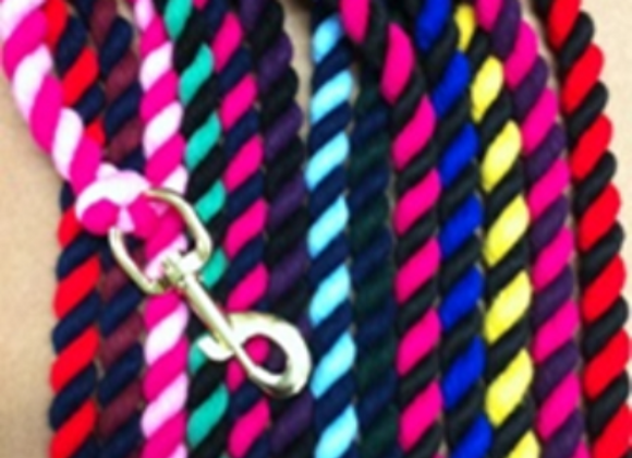 Two Tone Cotton Lead Rope