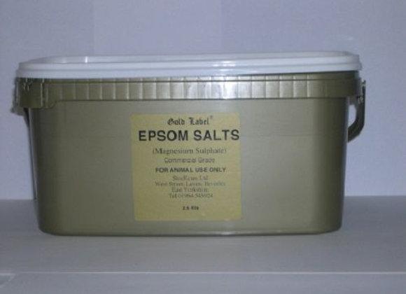 Epsom Salts 2.5Kg (Gold Label)
