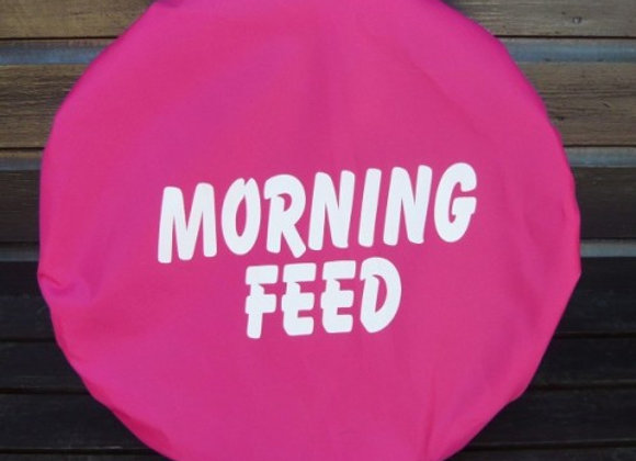 Morning/Evening Feed Printed Bucket Cover