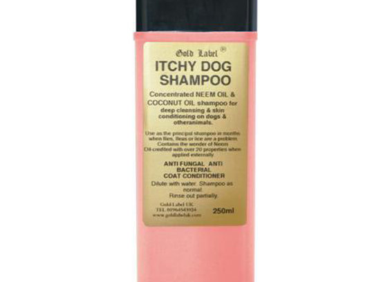 Shampoo - Itchy Dog (Gold Label) 250ml