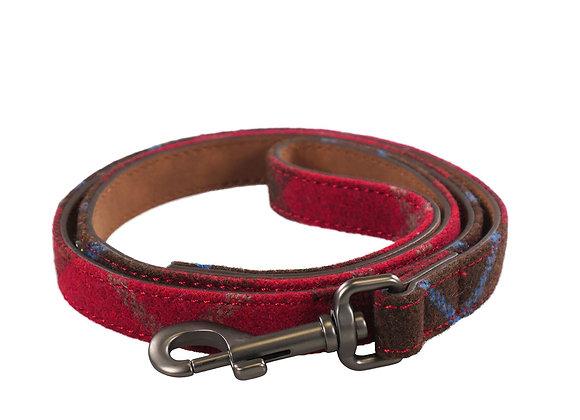 Joules Heritage Tweed Leather Dog Lead