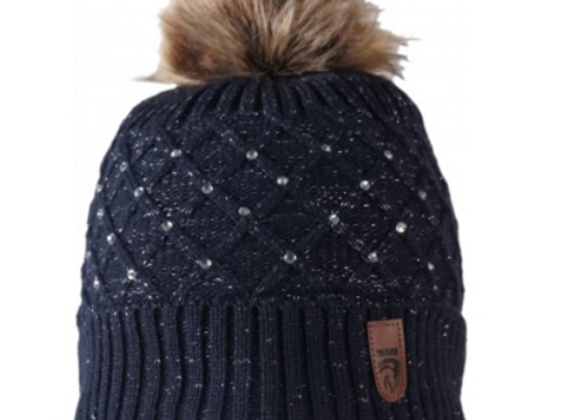 Horka Knitted Hat with Sparkle