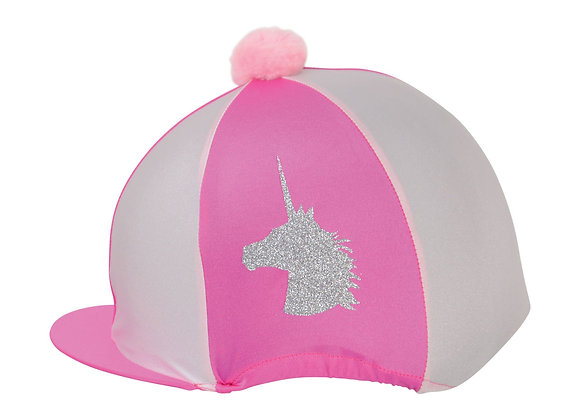 Unicorn Glitter Hat Cover by Little Rider