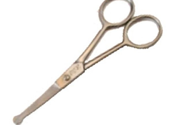 """Smart Grooming Rounded End 4.5"""" Scissors"""