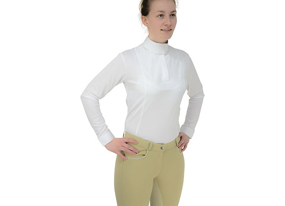 HyFASHION Ladies Sandringham Long Sleeved Stock Shirt