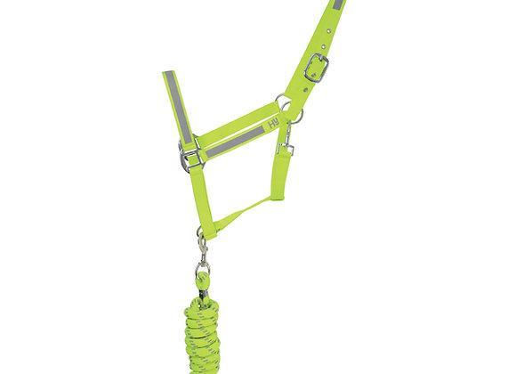 HyVIZ Reflector Head Collar and Lead Rope