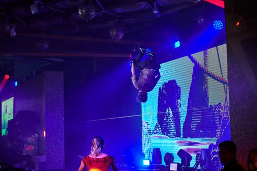 Slackline Show in Action!