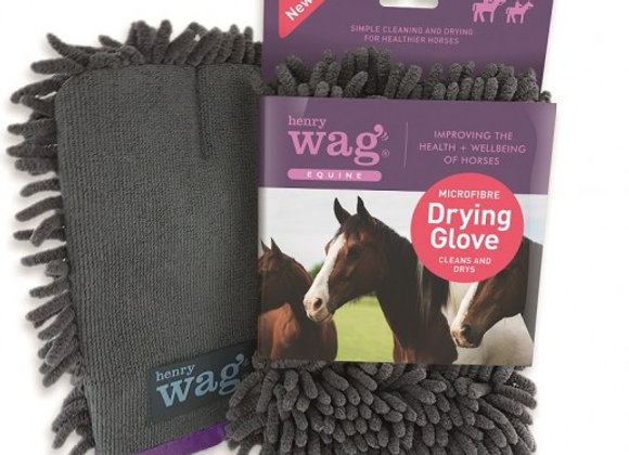 Henry Wag EQUINE Microfibre Drying Glove