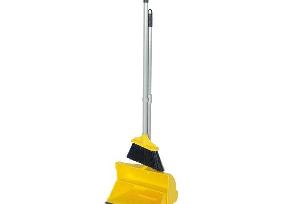 Angle Lobby Broom with Lobby Dustpan