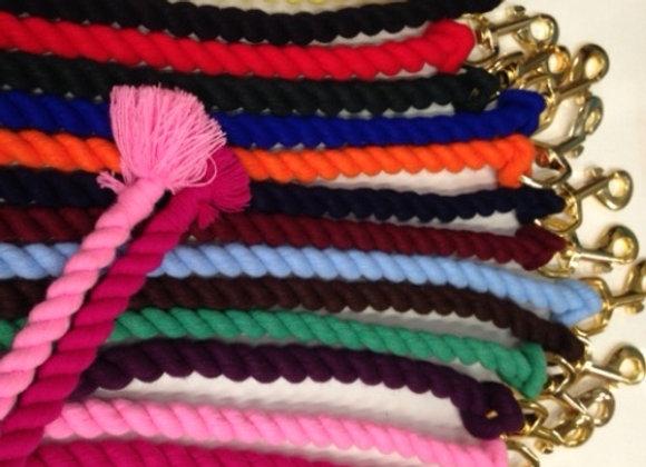 Lead Rope Cotton Plain