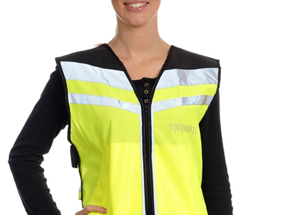 Equisafety Air Waistcoat -'Please Pass Wide & Slow'