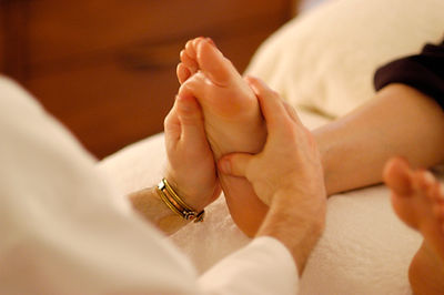 Deep Heart Reflexology Session