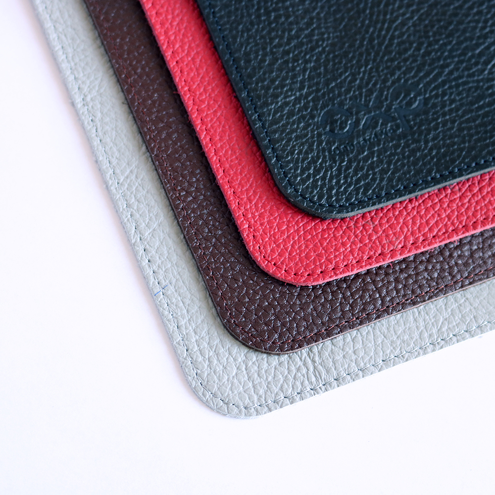 Leather headrest covers