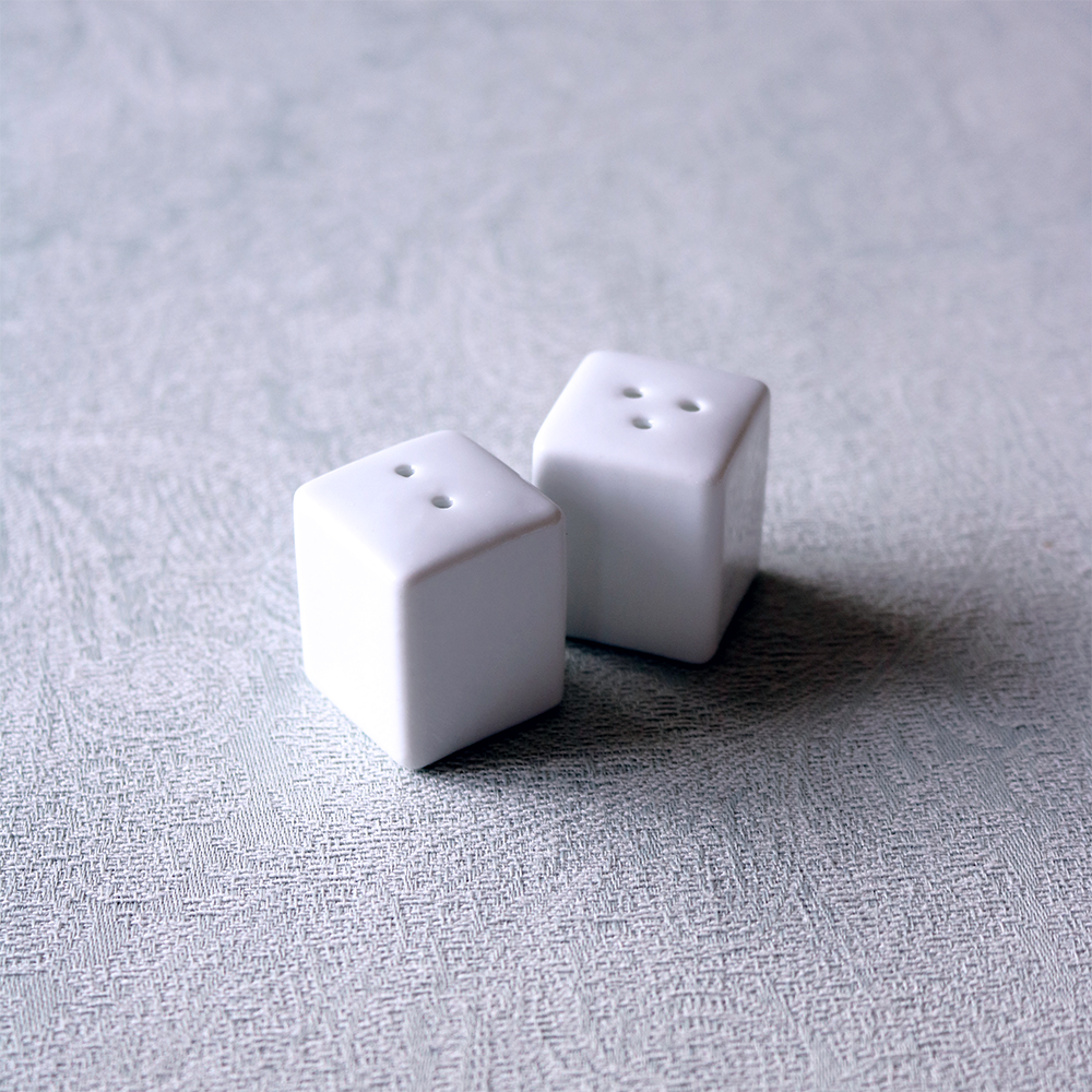 PURE SALT & PEPPER SHAKERS