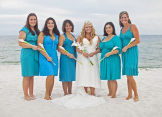 Best Beach Wedding Colors